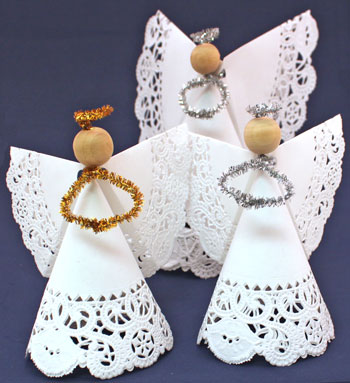 Doily Paper Angel