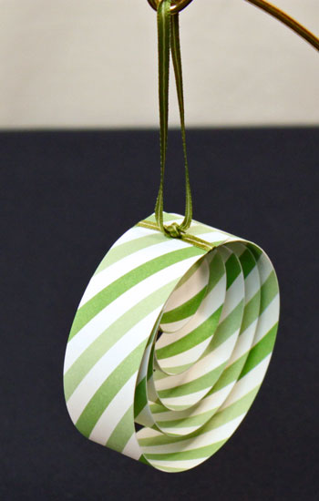 Funezcrafts Easy Christmas Crafts Paper Circles Ornament