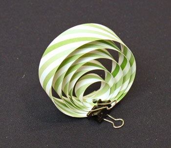 Easy Christmas Crafts Paper Circles Ornament step 6 add remaining circles