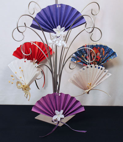 Funezcrafts Easy Christmas Crafts Construction Paper Fan Ornament