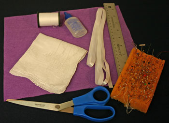 Easy Felt Crafts Handkerchief Valet Materials Tools