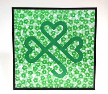 Easy Irish Shamrock