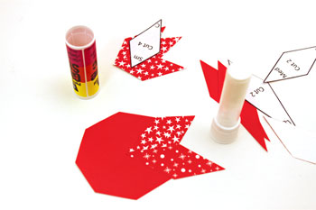 Easy Paper Crafts 8 Point Star step 4 add second point