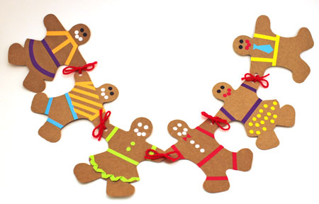 Gingerbread Man and Woman