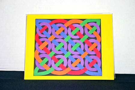 Funezcrafts Easy Paper Crafts Celtic Design 12 Circles