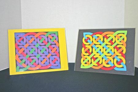 funEZcrafts - Easy Paper Crafts - Celtic Design 12 Circles