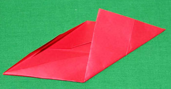 Easy paper crafts folded box ornament step 8