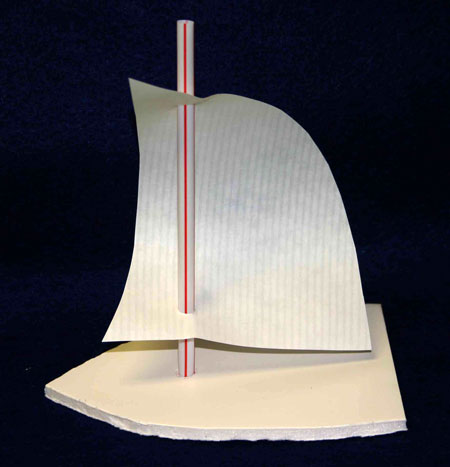 Funezcrafts Easy Paper Crafts Sailboat