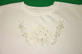 Frugal-Fun-Crafts-Sweatshirt-with-Battenberg-Lace-Pin-Step1