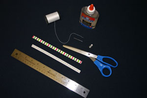 Frugal fun crafts mobius bracelet materials and tools