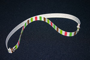Frugal fun crafts mobius bracelet turn ribbons to right sides out