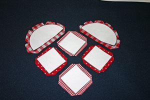 Frugal fun crafts punched quilt heart clip corners and curves