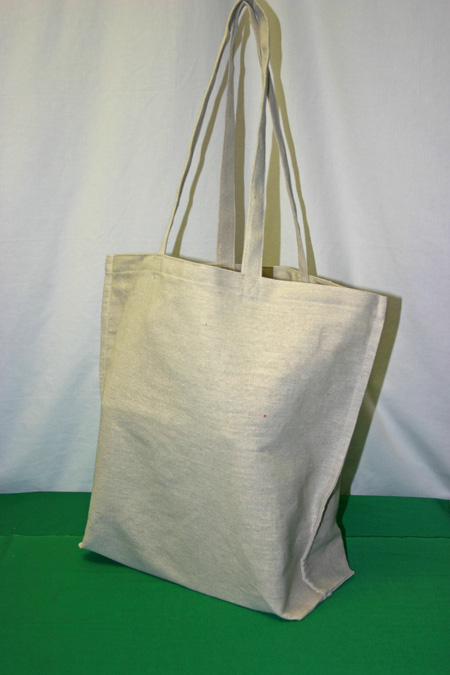 Frugal fun projects easy canvas shopping bag finished
