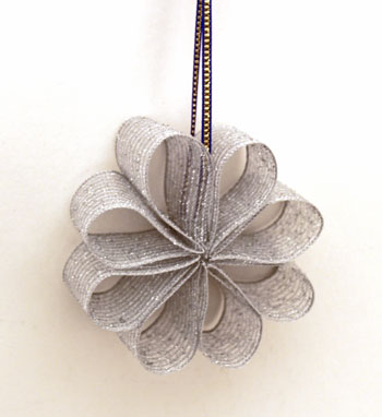 Ribbon Flower Ornament