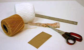 Easy Angel Crafts - Yarn Angel Materials and Tools