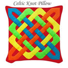 Celtic Rectangles Pillow on the funEZ Bazaar