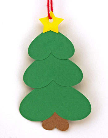 easy paper christmas crafts