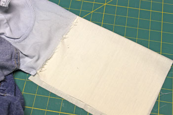 How to repair jeans pocket step 9 finished double sewn seam