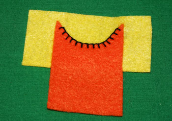 How to sew blanket stitch overlay step 15 finished stitches showcase edge
