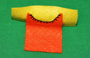 How to Sew a blanket stitch overlay