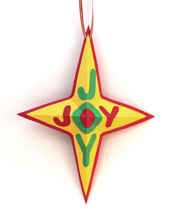 Joyful Star Ornament