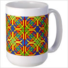 Bright Celtic Mug from funEZ Bazaar