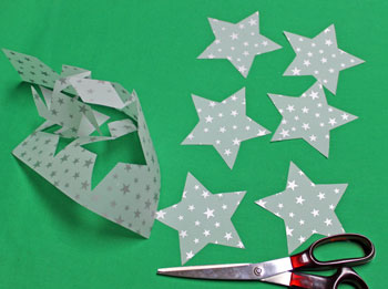 Vellum Ornament step 3 cut shapes