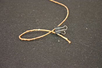 Easy Angel Crafts - Wire Angel - curve wire back over itself